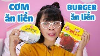 Lạ Lùng Món Cơm Ăn Liền Hàn Quốc