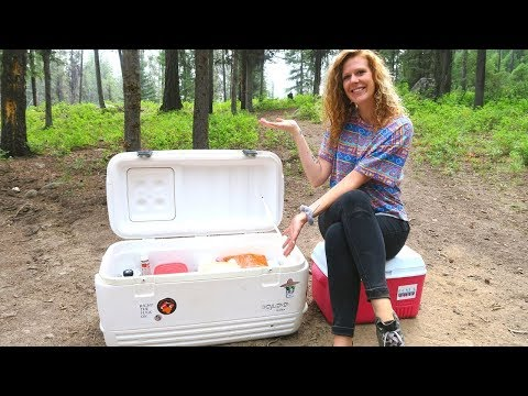 VEGAN CAMPING | What To Pack In Your Cooler #2
