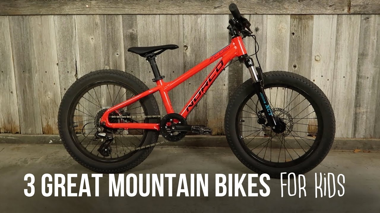 3 Great Mountain Bikes for Kids - Mountain Bikes Feature Stories