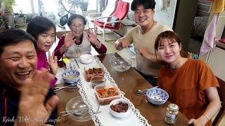 Tết Hàn Quốc#3: Nội hướng dẫn nấu món Truyền Thống tết Hàn Quốc-Canh Bánh Gạo 🇰🇷240