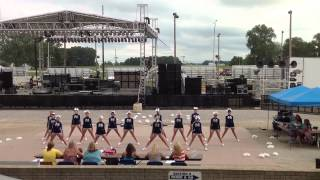 Napoleon at Fulton County Fair Cheerleading Competition FIRST 1st Place HIGH SCHOOL VARSITY