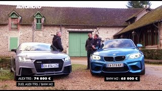 Duel : BMW M2 Coupé vs Audi TT RS sur circuit !