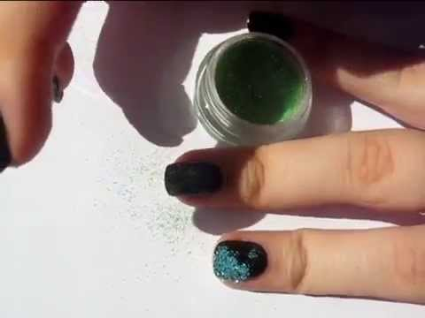 nageldesign regenbogen glitzer n gel nailart youtube. Black Bedroom Furniture Sets. Home Design Ideas