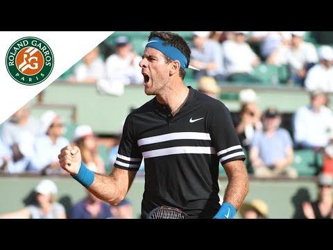 Juan Martin Del Potro vs Julien Benneteau - Round 2 Highlights I Roland-Garros 2018