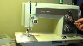 NIFTYTHRIFTYGIRL: Vintage Kenmore model 1410 sewing machine