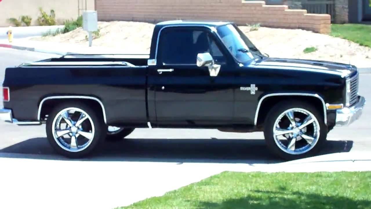 1985 Chevy Silverado - YouTube