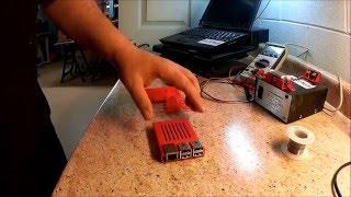 XYZ Printing Da vinci 3D Printers - Printing a Raspberry Pi Sleeve for OctoPrint