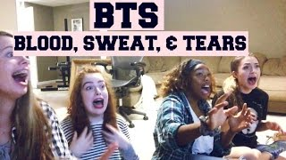   Reaction To BTS Blood, Sweat, & Tears  