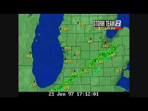 WOOD-TV Grand Rapids Radar 21 June 1997 HD.wmv