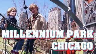 SuperTwins TV Travel - Millennium Park / Maggie Daley Park Chicago