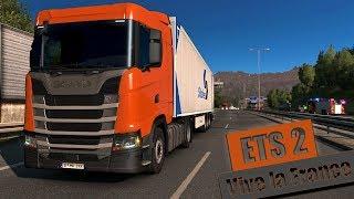 EURO TRUCK SIMULATOR 2: Von Frankfurt Frankreich | Let's Play ETS 2