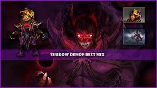 Dota 2 Shadow Demon Golden Mix Set Golden Mantle of Grim Facade + Stygian Maw(13.42$)