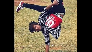 B-Boy Am Shy Practice Session at Step Up Dance Academy Dhading