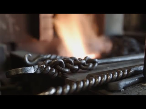 Blacksmithing: Quality has to be right. It must be correct