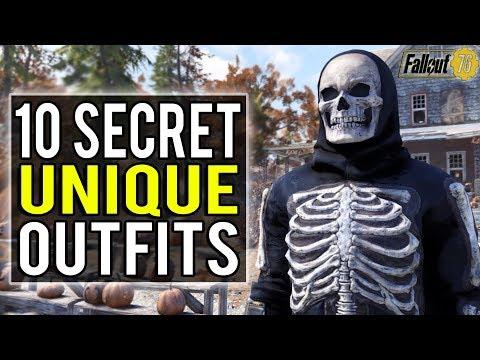Fallout 76   10 Secret Unique Outfit Locations You Won't Want to Miss! (Fallout 76 Secrets)