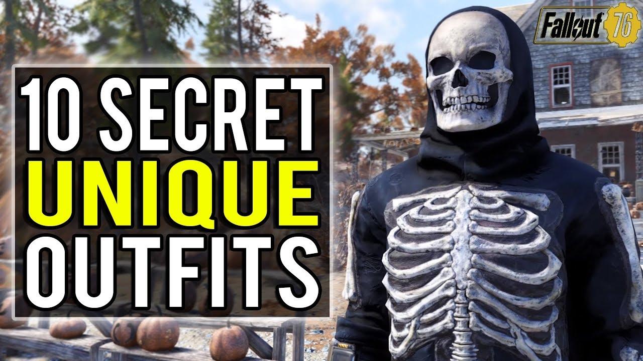 Fallout 76 | 10 Secret Unique Outfit Locations You Won't Want to Miss!  (Fallout 76 Secrets)
