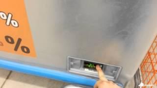перенастройка температуры в ларе UGUR на carel ir33