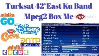 Türksat 3A/4A at 42.0°E Kanäle Dish-Einstellung | | - Zeichentrickfilm-Kanälen || DD Free Dish | | - Sport-Kanäle