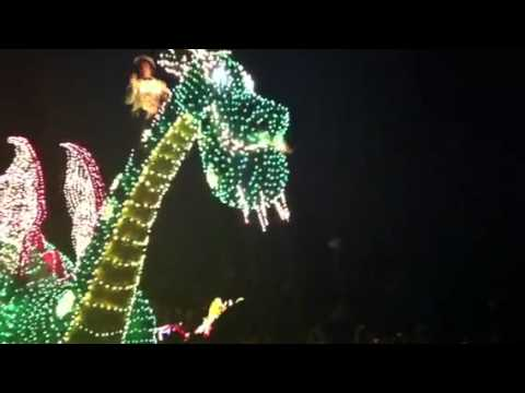 On Vacation Day 5- Magic Kingdom Part 4- Electric Lights Show