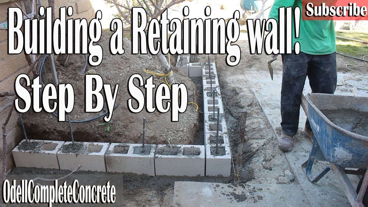 How To Build A Retaining Wall Easy Guide Diy