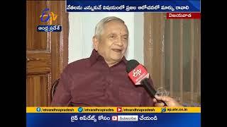 Vijayawada Former Mayor Jandhyala Shankar Interview | Over Municipal Elections