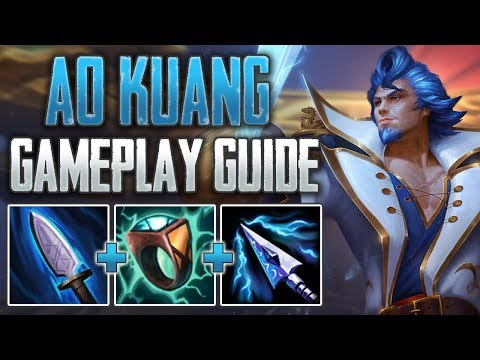 Ao Kuang Jungle Gameplay Guide | The Magical Assassin! (SMITE A-Z Conquest)