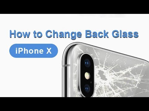 best sneakers c490d 05869 How to Change iPhone X Back Glass | Glass Only Repair