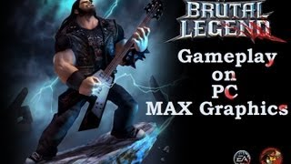 Brutal Legend GamePlay on PC Max Graphics [1080p]