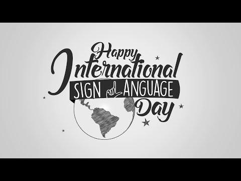 Today Is International Sign Language Day!   ANC Soundbytes