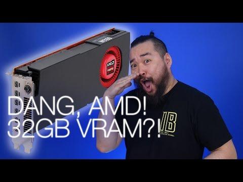 32GB AMD GPU, Quicktime Vulnerable, Huawei VR headset