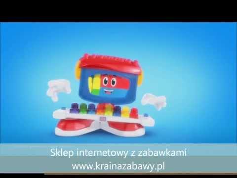 Klocki Mega Bloks Maxi - Tańczące pianinko Billy Beats 8427