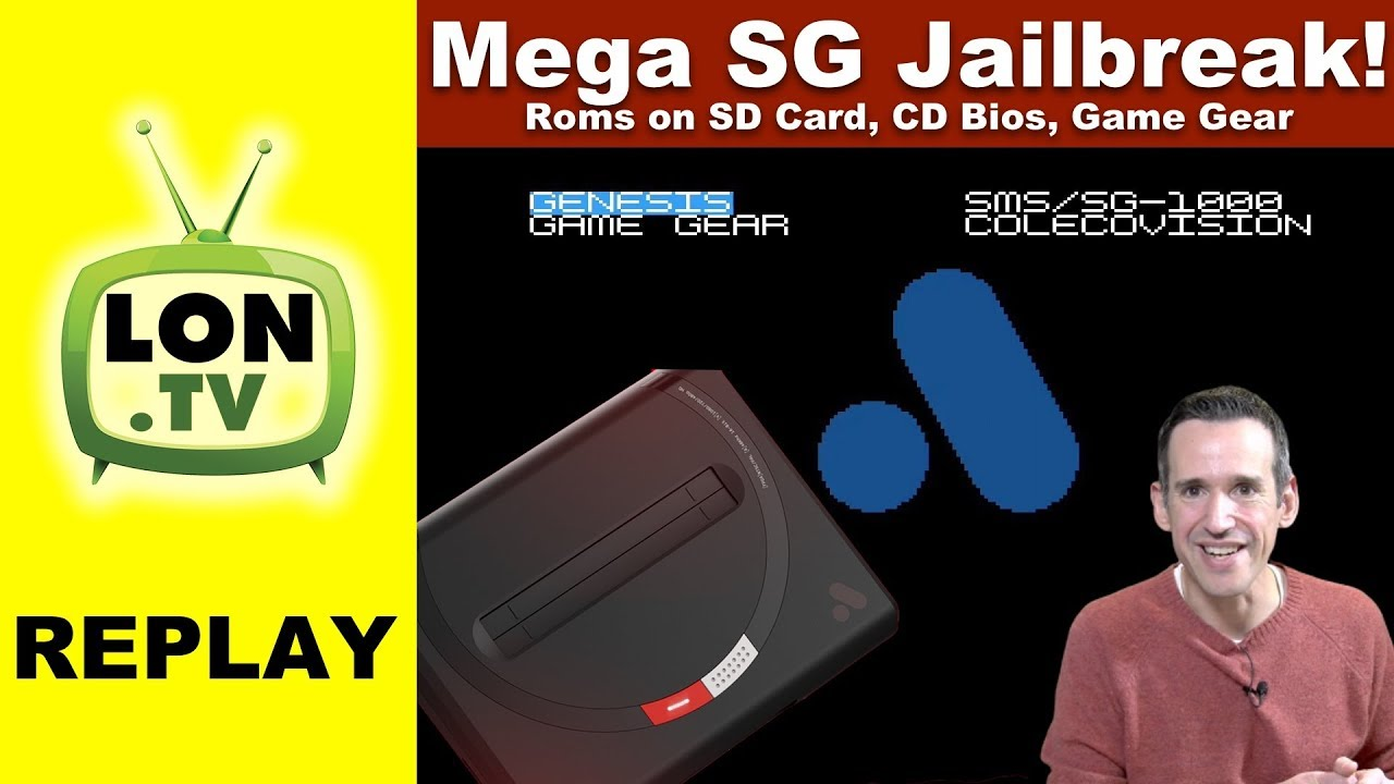 Analogue Mega SG Jailbreak: Games on SD Card, Sega CD BIOS, Game Gear and  button lag!