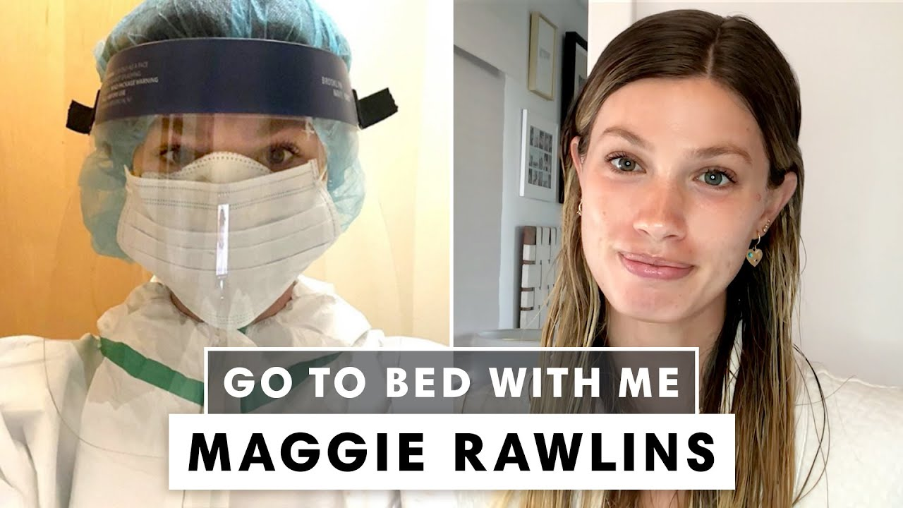 A Nurse's Nighttime Skincare Routine | Go To Bed With Maggie Rawlins | Harper's BAZAAR