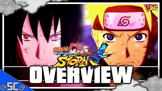 ●NARUTO STORM 4 | 1st Gameplay Trailer Overview / Discussion【Jump Festa 2015】●
