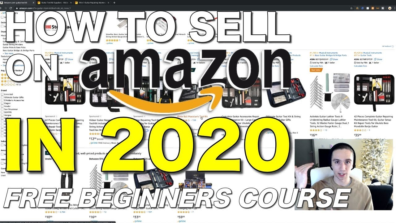 How to Start Selling on Amazon in 2020 as a Complete Beginner | Free Amazon FBA Course Part 1