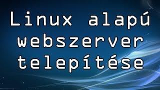 Ubuntu szerver készítés (apache2, php, MySQL, Webmin és phpMyAdmin telepítés)
