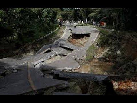 BOHOL SINK HOLE EARTHQUAKE