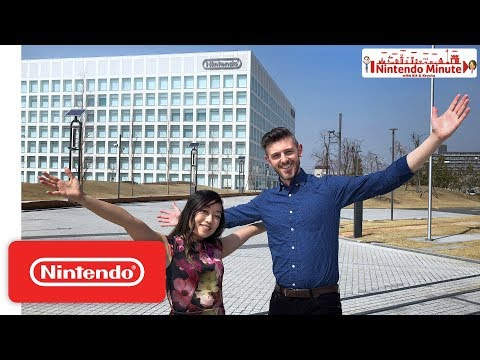 INSIDE Nintendo HQ in Kyoto, Japan - Nintendo Minute