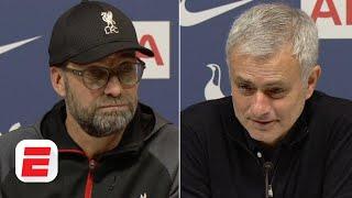 Jurgen Klopp And Jose Mourinho Break Down Liverpool's Win Vs. Tottenham   Premier League