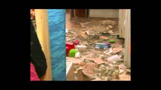 В Ярославле в жилой квартире рухнул потолок