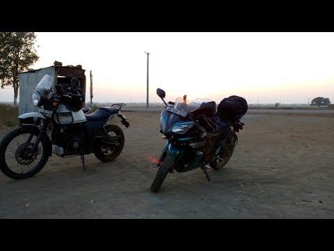 Kolkata to Vizag  In Royal Enfield Himalayan & Yamaha R15