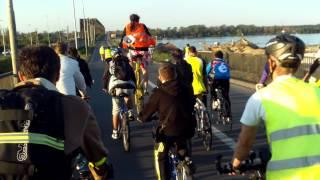 Kriticna masa Beograd m-a dus până la Dunăre/Dunav
