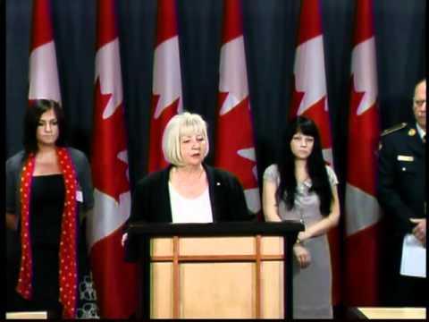 Part 2   National Press Conference Bill C-310 Receives Royal Assent   Ottawa