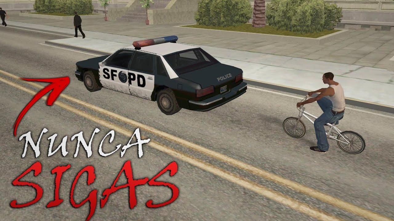 Nunca Sigas a los POLICIAS de GTA San Andreas thumbnail