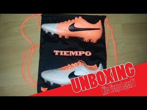 Nike Tiempo Legend 5 (V) FG Orange/Beige| Unboxing | by Saarkickers
