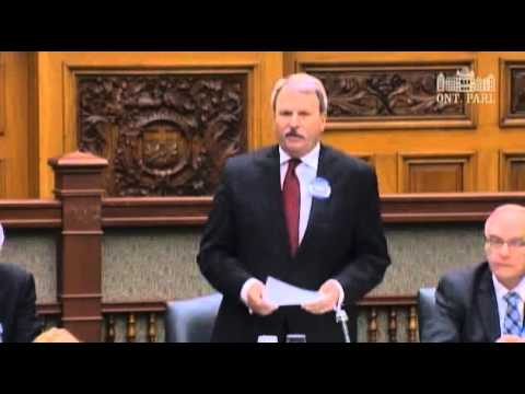 Jack Questions the Minister of Energy about transfering customers to Hydro Ottawa