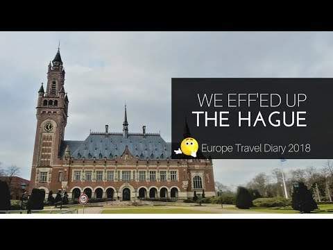 The Netherlands:  Exploring The Hague | Europe Travel in 2 weeks: Europe Vlog 3