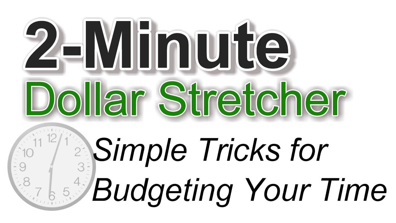 Simple Tricks for Budgeting Your Time