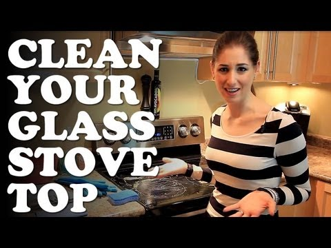 How to Clean Your Glass Stovetop! Kitchen Cleaning Ideas That Save You Time & Money (Clean My Space)