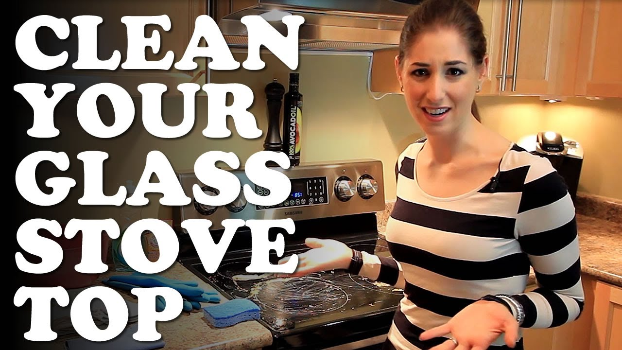 How To Clean Your Glass Stovetop Kitchen Cleaning Ideas That Save